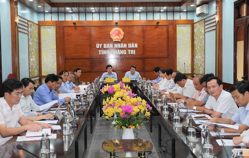 Làm việc trực tuyến giữa ban thường trực tỉnh ủy Tỉnh Quảng Trị và AVSE Global